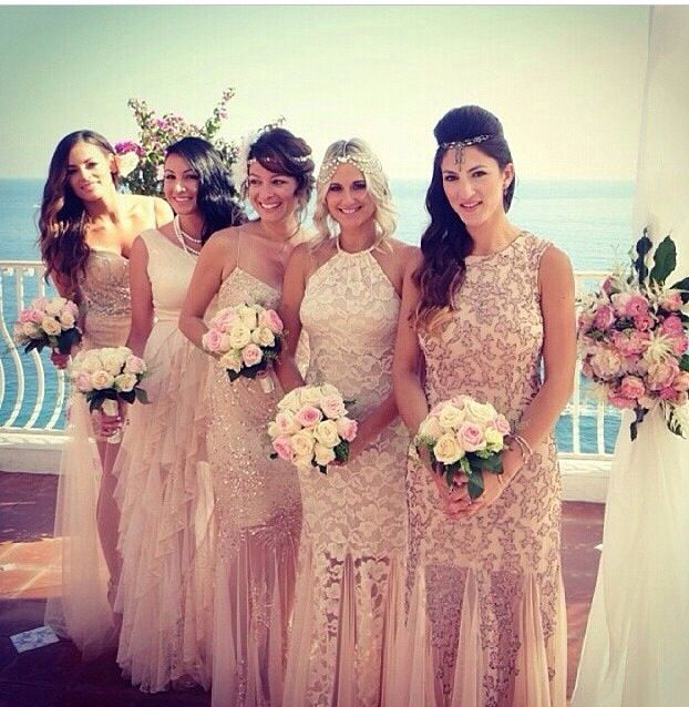 Cool Best Ideas About Braids Maid Dresses Blue And With Wedding Bridesmaid