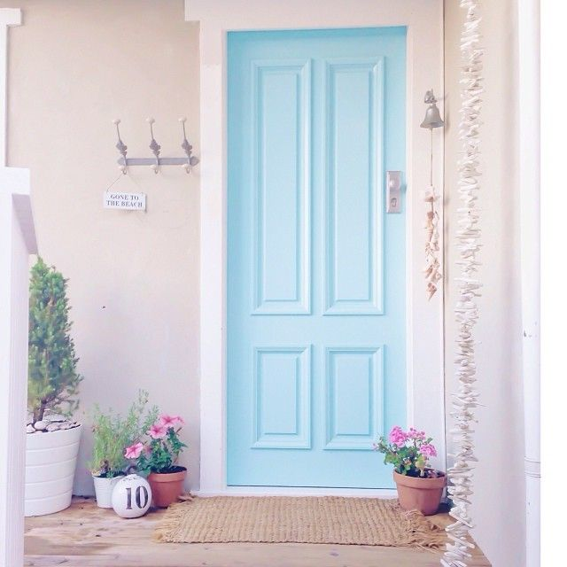 9 best images about Beach Cottage Sweet Entrance Hallways on Pinterest  Entr...