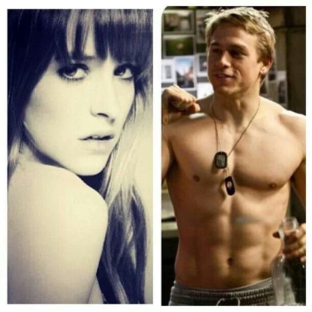 Charlie Hunnam and Dakota Jhonson will be Christian and Ana in Fifty Shades of Grey i think it's perfect