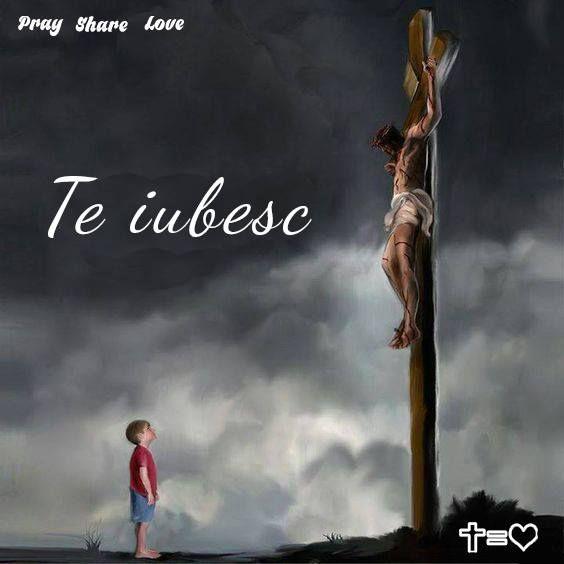 https://www.facebook.com/praysharelove/ Sa simti dragostea Lui inseamna sa te bucuri in a Sa prezenta #love #christ #cross #praysharelove #cruce #hristos #dragoste