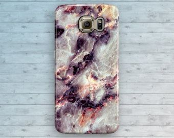 Marble Samsung Galaxy Case, Blue Galaxy S6 Case, Space Marble Galaxy S7 Edge, Galaxy S6 Edge Plus, S3 S4 S5 Note 3 4 5 Cool Granite Cover by ByKustomKase