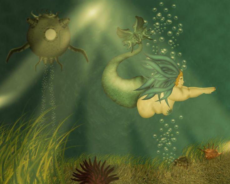 beautiful-mermaid-art ...