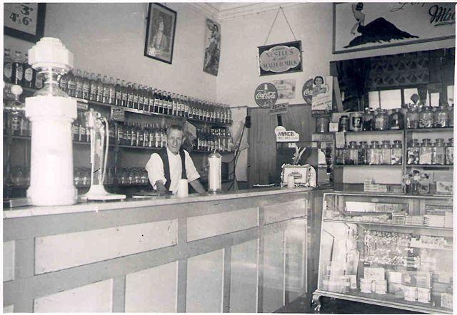 Mascot Milk Bar 1948