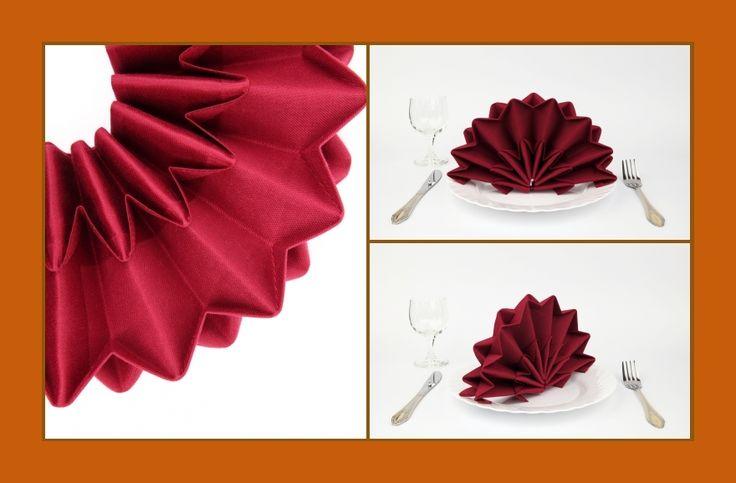 ber ideen zu servietten falten stern auf pinterest servietten falten servietten. Black Bedroom Furniture Sets. Home Design Ideas