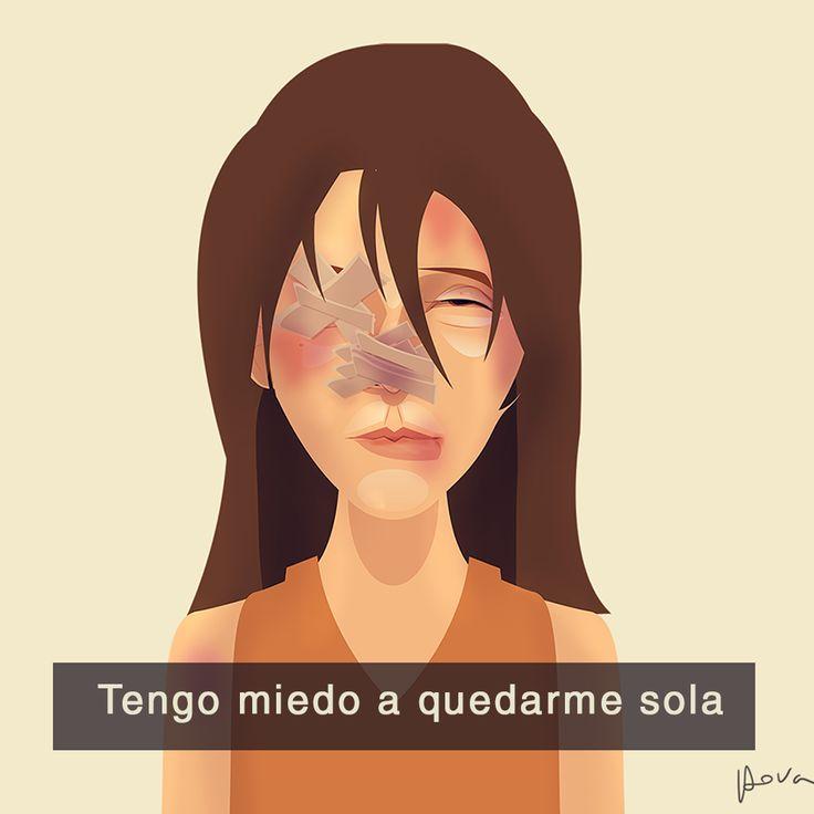 Cristhian Hova, es egresado de la carrera de Publicidad diseñador e ilustrador gráfico digital residente de Lima – Perú. Su campaña contra la violencia doméstica a las mujeres ha logrado impactar en redes sociales.