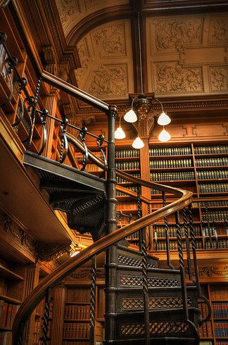 Library at Osgoode Hall; Toronto | 19 Totally Magical Libraries To Visit Before You Die