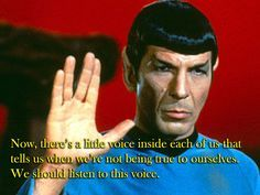 Spock's Advice To A Teenage Girl Will Make You Cry