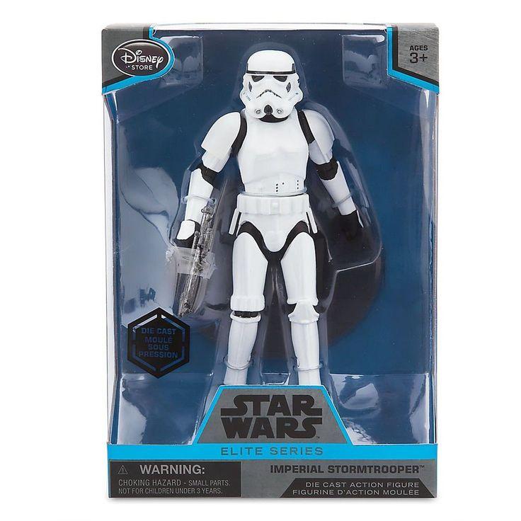 Star Wars Imperial Stormtrooper Elite Series Die Cast Action Figure  6 1/2 I