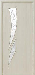 """http://ift.tt/2ttEqu8 #SumyDveri """"Камея"""" со стеклом сатин и рисунком (Дуб жемчужный Экошпон)"""