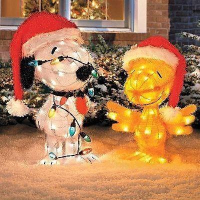 Snoopy Christmas Decor unique christmas decorations improvements - peanuts outdoor christmas decorations