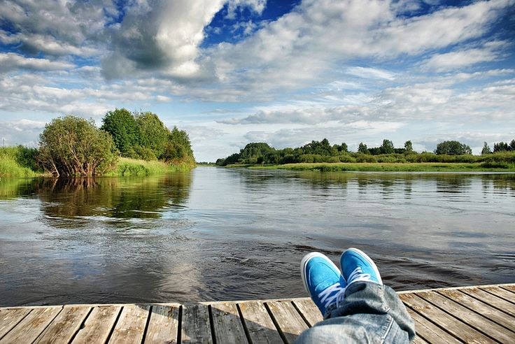 River Lapuanjoki (Alahärmä, Finland)