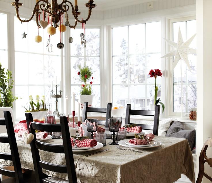 Tu mesa de Navidad al estilo IKEA