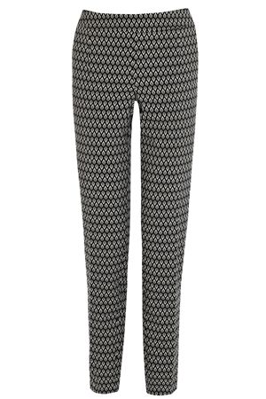 Bethy Trousers £65 #style #agenda: Black Bethi, Flatter Mid Ris, Lady Clothing, Geometric Prints, Beautiful Taper, Bethi Trousers, Trousers Collection, Statement Geometric, Prints Trousers