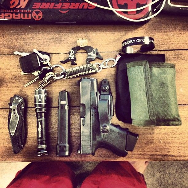 EDC any critiques or discussion is encouraged. Lost my smaller knife unfortunately. - jrheikk (IG)