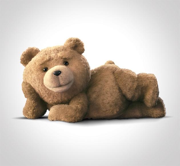Ted R-Rated Talking Teddy Bear by Headlines & Heroes, via Flickr