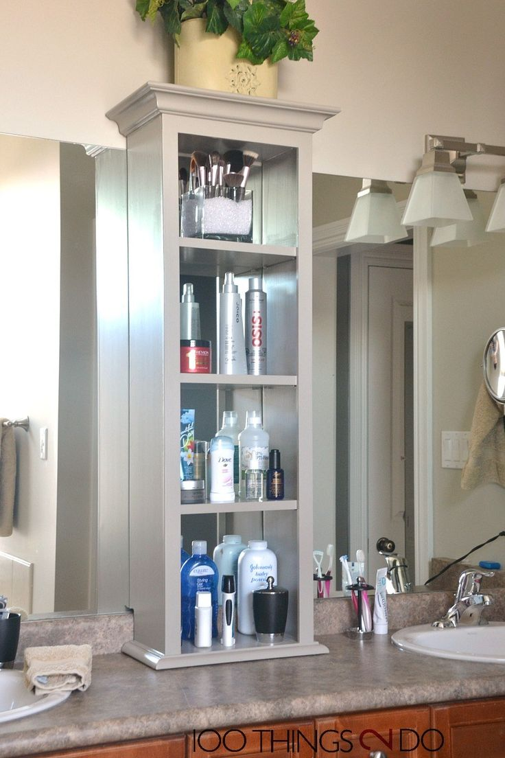 Bathroom cabinet storage solutions - Bathroom Storage Tower