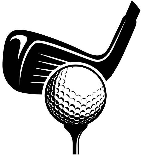 41++ Golf club clipart black and white ideas
