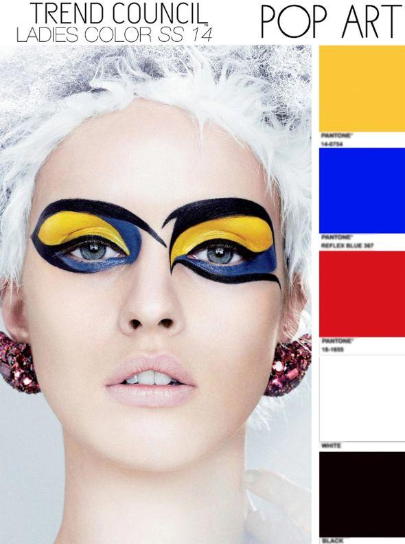 POP art fashion #GLOSSYxPOPART