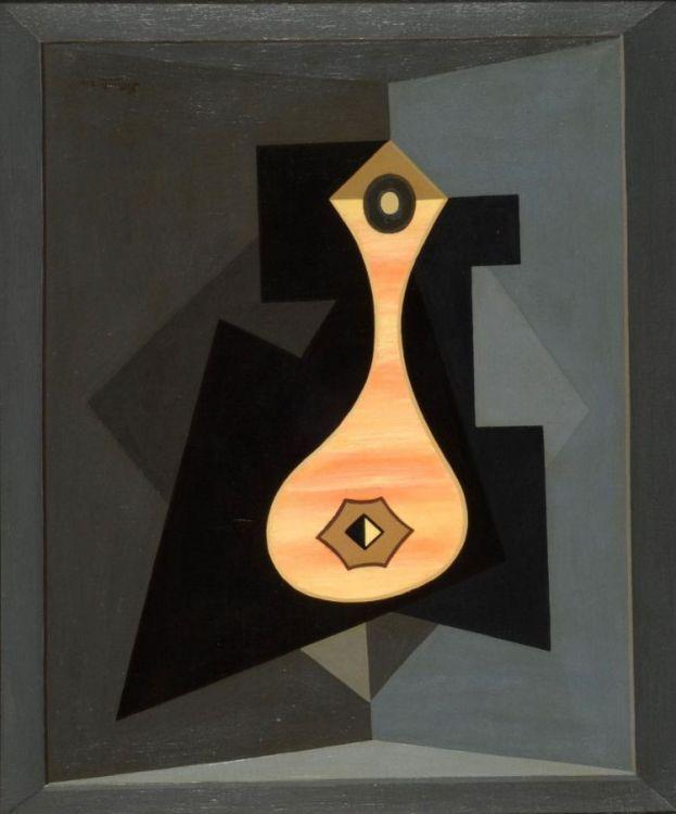 Orgía II (1934) Oleo sobre tela - Emilio Pettoruti (Argentino 1892-1971) Museo Nacional de Bellas Artes de Buenos Aires
