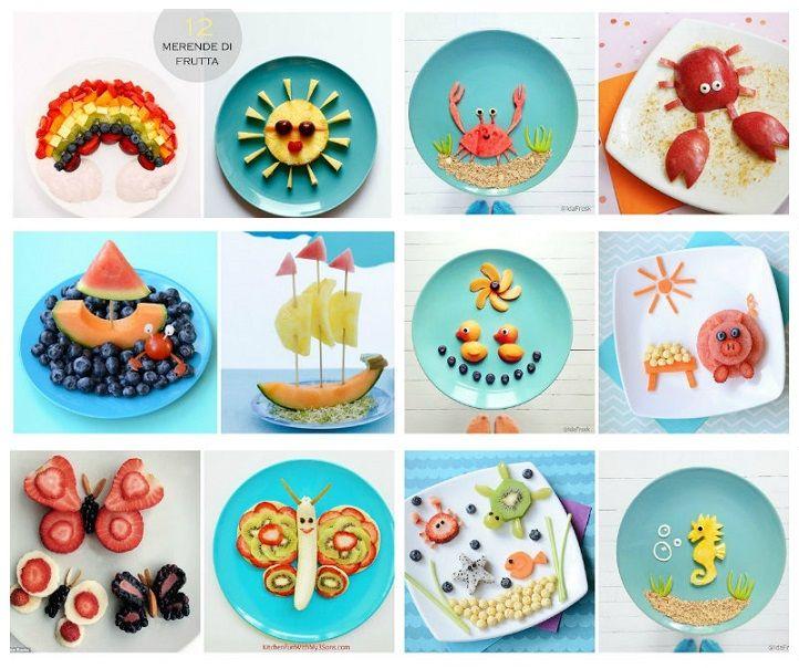 Merende sane e creative per i bambini.
