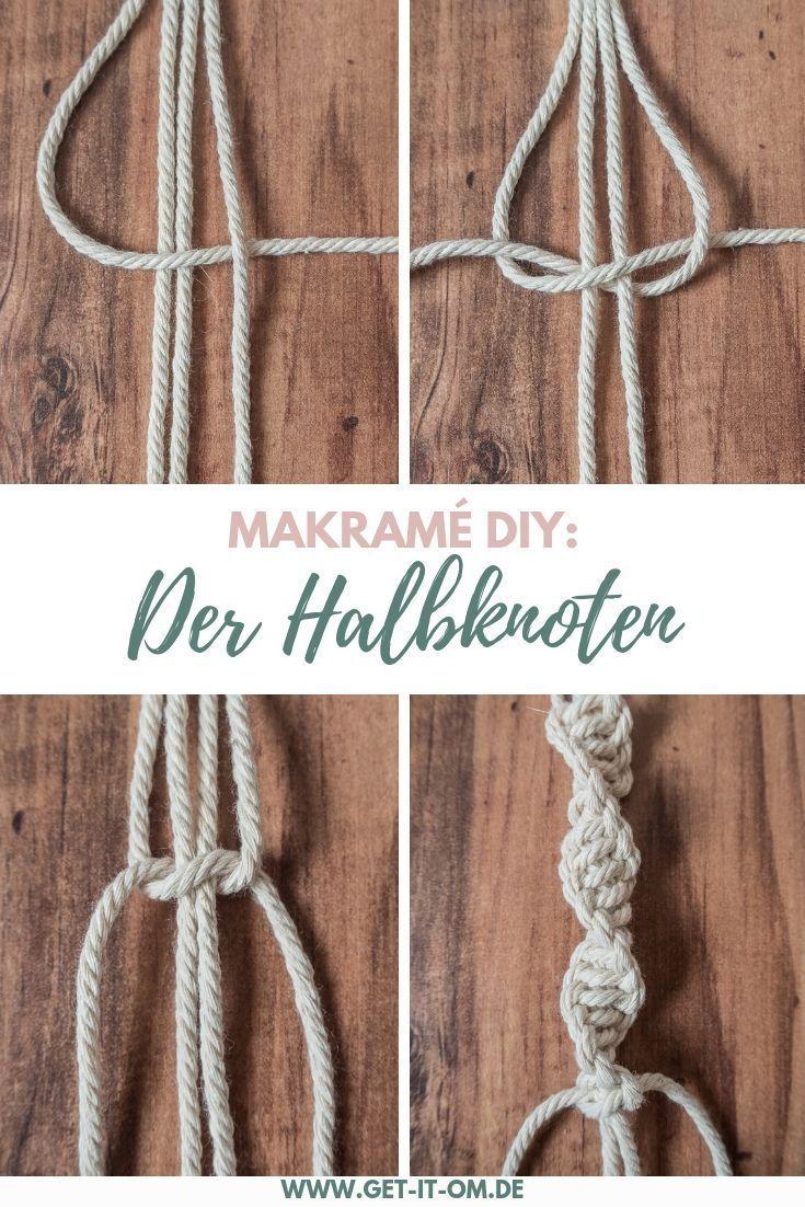 DIY: Klopfen Sie an einen einfachen Makramé-Blumenkorb und geben Sie Ihrer Yoga-Ecke eine