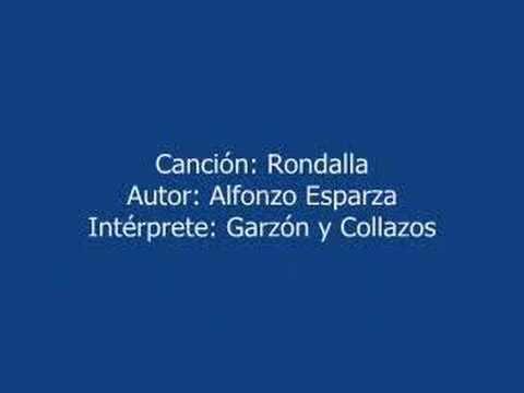 """GARZÓN Y COLLAZOS -- """"RONDALLA"""" --"""