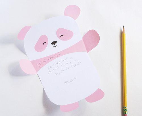 printable // panda paper - Wild Olive