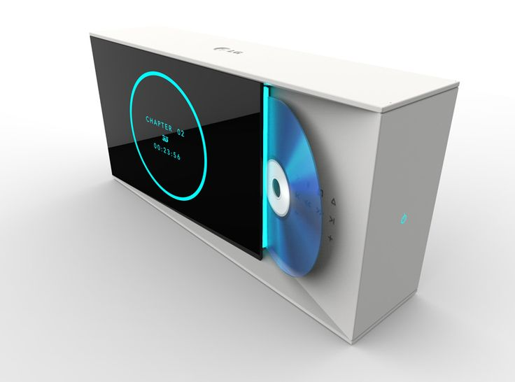 home theater system concept for LG by claesson koivisto rune - designboom | architecture & design magazine