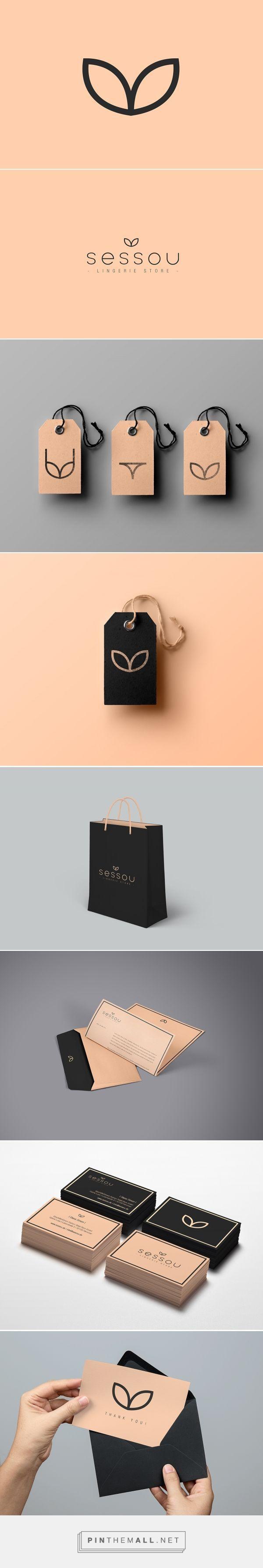 Sessou Lingerie Branding by Andrea Cutura