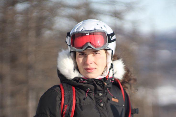 Уральские горы.Катаемся на горных лыжах! #урал #горныелыжи