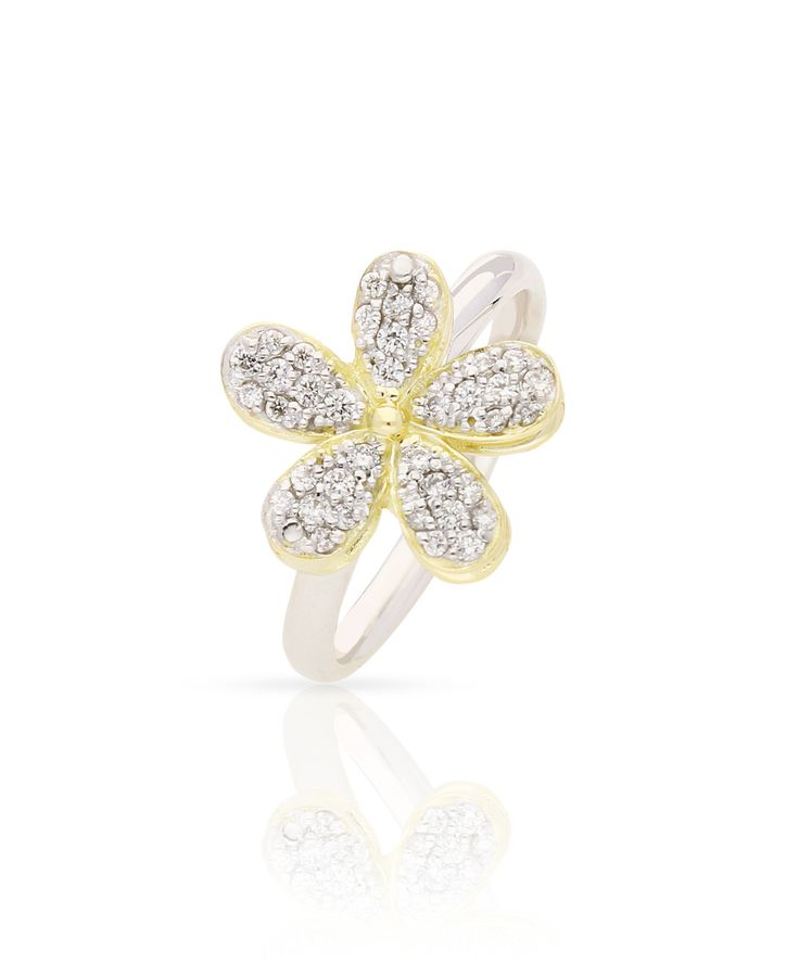 Delicate as a flower - Love Me Daisy Pave Rings – Jenna Clifford