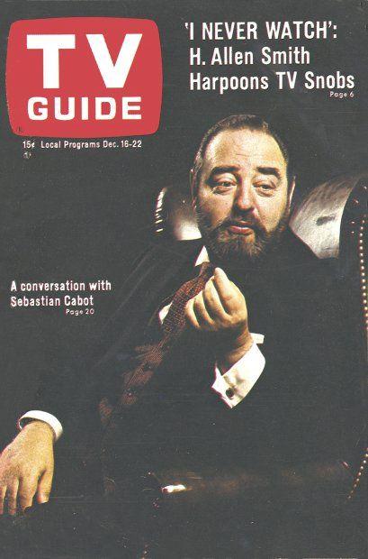 TV Guide: December 16, 1967 - Sebastian Cabot