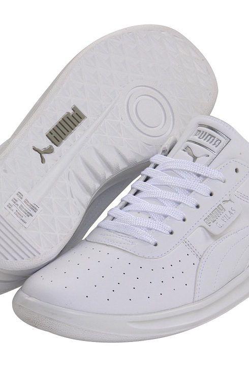 PUMA G. Vilas L2 (White/Metallic Silver) Shoes - PUMA, G. Vilas L2, 35275801, Footwear Athletic Casual, Casual, Athletic, Footwear, Shoes, Gift, - Fashion Ideas To Inspire