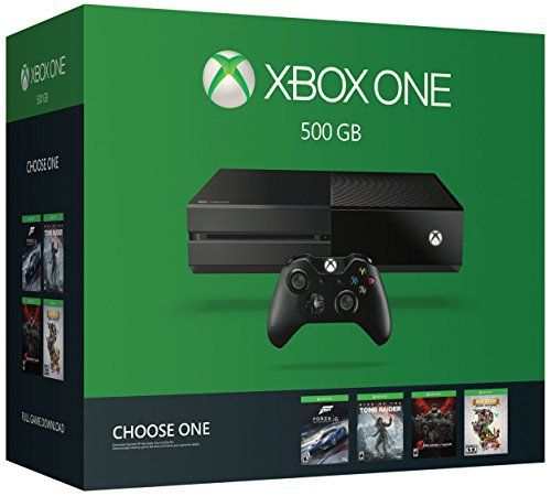 Xbox One 500GB Console - Name Your Game Bundle - http://www.amazon4all.net/xbox-one-500gb-console-name-your-game-bundle/