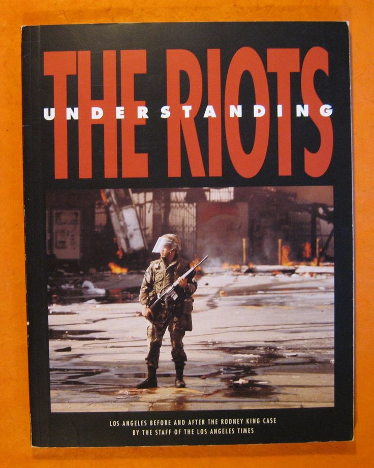 Understanding the Riots: Los Angeles Before and After the Rodney King Case by Pistilbooks on Etsy