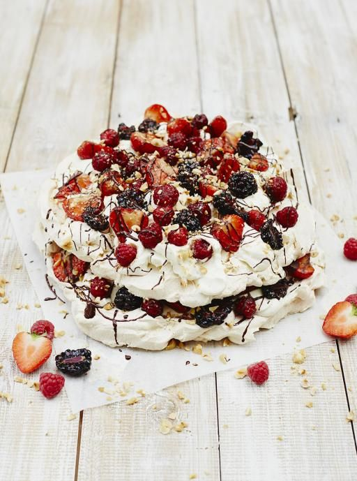 This was quite good! I could make just the meringue over and over again...so yummy.  It looks amazing and we'll find some Wimbledon to watch to make it official. - Eton mess | Jamie Oliver | Food | Jamie Oliver (UK)