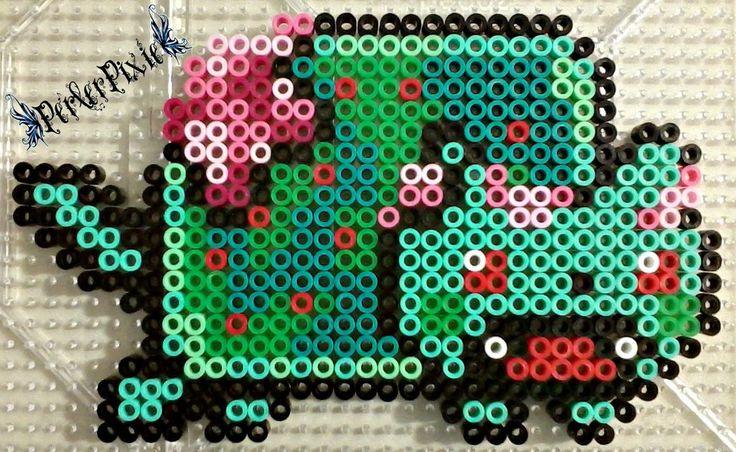 Zombie Nyan Cat perler beads by PerlerPixie