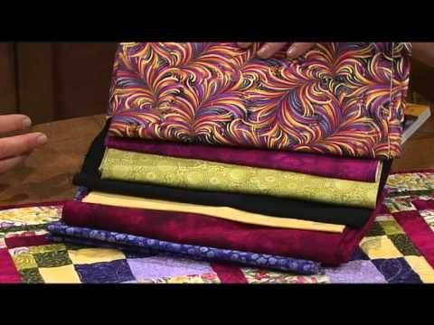 Make Bargello quilts easier with Maggie Ball's new idea, the Bargello block. Nancy and author Maggie Ball discuss and demonstrate how to construct the innovative block.