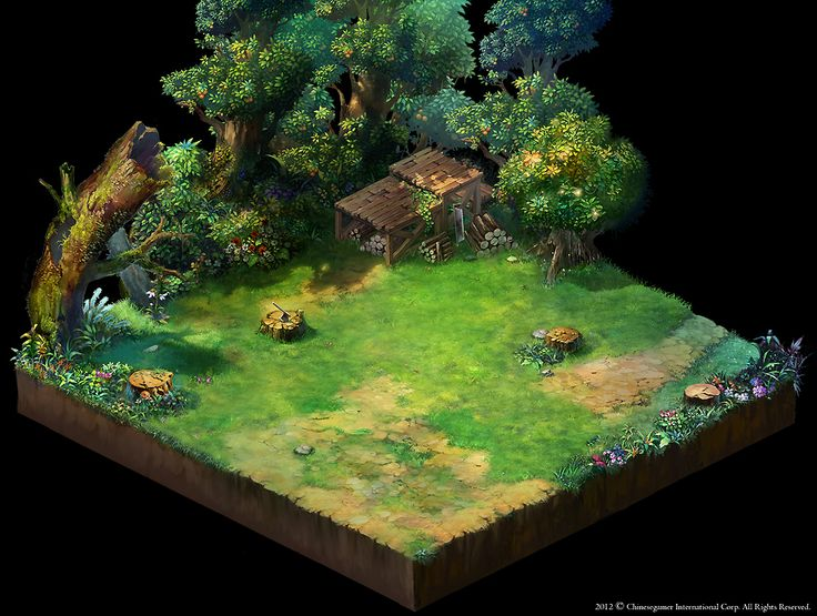 The most breathtaking isometric art I have ever seen. God damn.