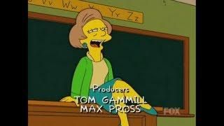 Edna Krabappel's  compilation in honor of the retirement of her character. RIP Marsha Wallace...