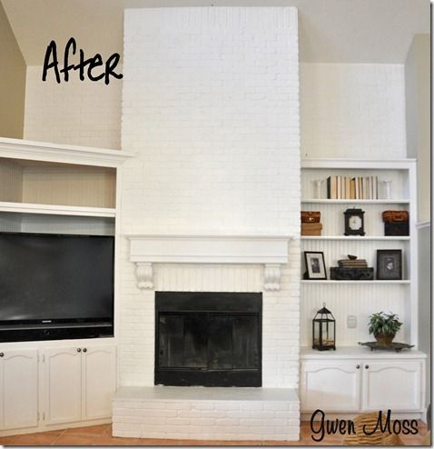 20 best images about fireplaces on pinterest before and after pictures how to paint and brick - Removing paint from brick exterior collection ...