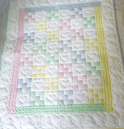 This quilt is also a favorite; I love the colors as they are in the picture.