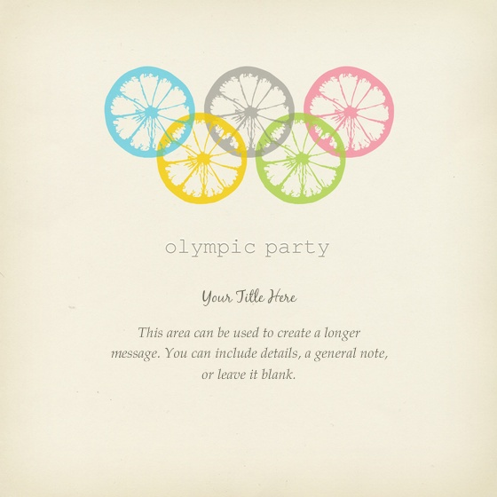 Best Themed Party Olympics Images On Pinterest Olympic Games - Party invitation template: olympic party invitation template