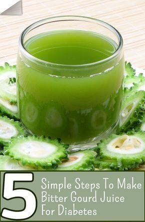 Bitter Gourd Juice For Diabetes