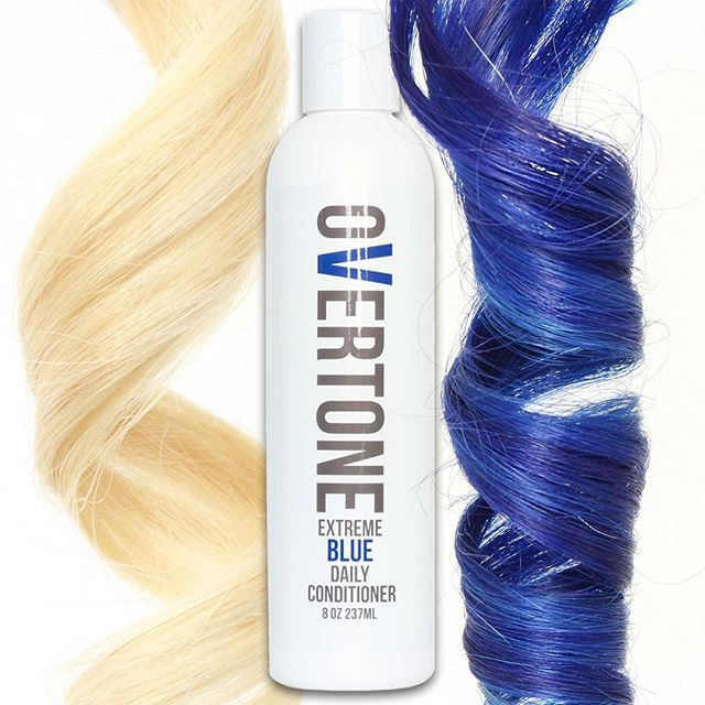 Electric azure right up your alley? Use our Daily Conditioner whenever you shampoo! The Daily Conditioner gently deposits color to replenish what washing your hair removes. Enjoy your color looking fr
