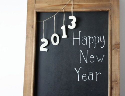 pictureperfectforyou:  chalkboard idea for the new year