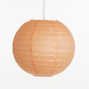 Lampion - Zalm roze (30, 40 & 50 cm)