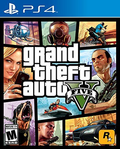 Grand Theft Auto V - Playstation 4 [Download Code], 2015 Amazon Top Rated Digital Games #DigitalVideoGames