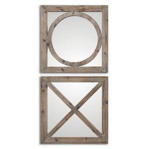 x and o mirrors. www.darbyroad.com