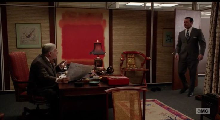Bert Cooper S Office On Mad Men Objects Of Interest